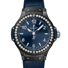 Hublot Big Bang Ceramic Blue Diamonds 41mm |- Maestro Jewelers