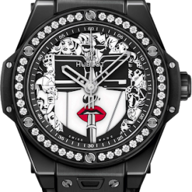 Big Bang One Click Marc Ferrero Crni - Maestro Jewelers