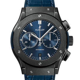 Ceramic Blue Chronograph - Maestro Jewelers
