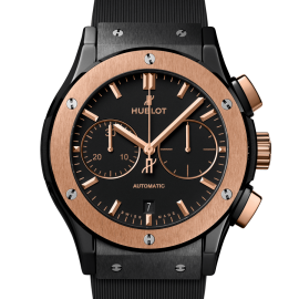 Classic Fusion Chronograph Ceramic King Gold - Maestro Jewelers