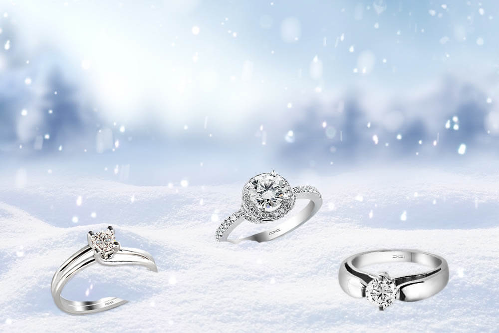 Dijamantski nakit inspirisan zimom